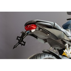 Portamatrícula EVOTECH ESTR-0125 Honda CB650R '19-