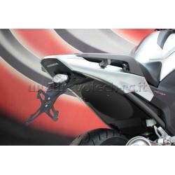 Portamatrícula EVOTECH ESTR-0117 Honda NC700X/...