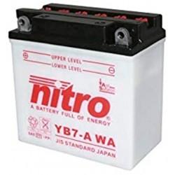 BATERIA NITRO YB7A (YB7-A) 12V 8A 124CCA