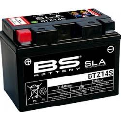 BATERIA BS BTZ14S (YTZ14S) 12V 11,2AH SLA