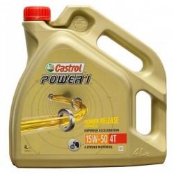 CASTROL POWER 1 4T 15W50 GARRAFA 4 LITROS